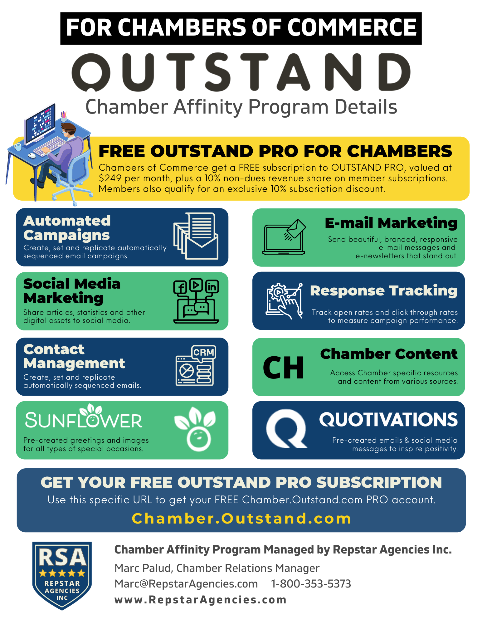 Chamber Affinity Program for Outstand